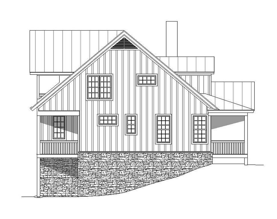 Country, Southern House Plan 51637 with 4 Beds, 5 Baths, 2 Car Garage Picture 2