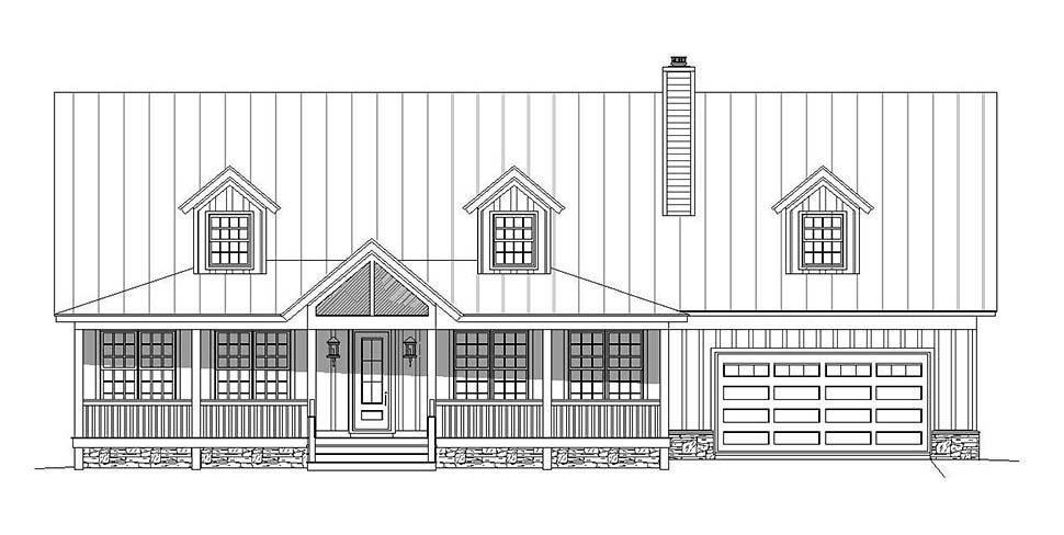 Country, Southern House Plan 51637 with 4 Beds, 5 Baths, 2 Car Garage Picture 3