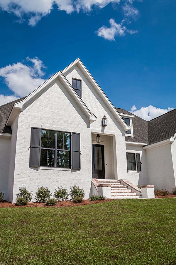 European, French Country House Plan 51967 with 4 Beds, 3 Baths, 2 Car Garage Picture 2