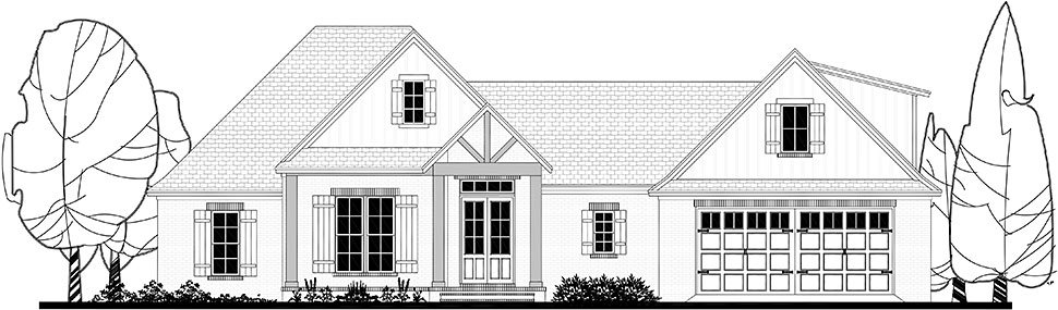 Country, Craftsman, Farmhouse House Plan 51981 with 4 Beds, 3 Baths, 2 Car Garage Picture 29