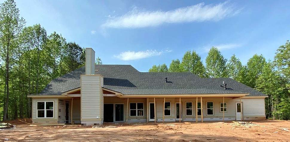 Craftsman, Farmhouse House Plan 52030 with 4 Beds, 4 Baths, 4 Car Garage Picture 3