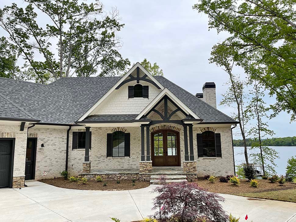 Craftsman, Traditional House Plan 52033 with 3 Beds, 4 Baths, 4 Car Garage Picture 3