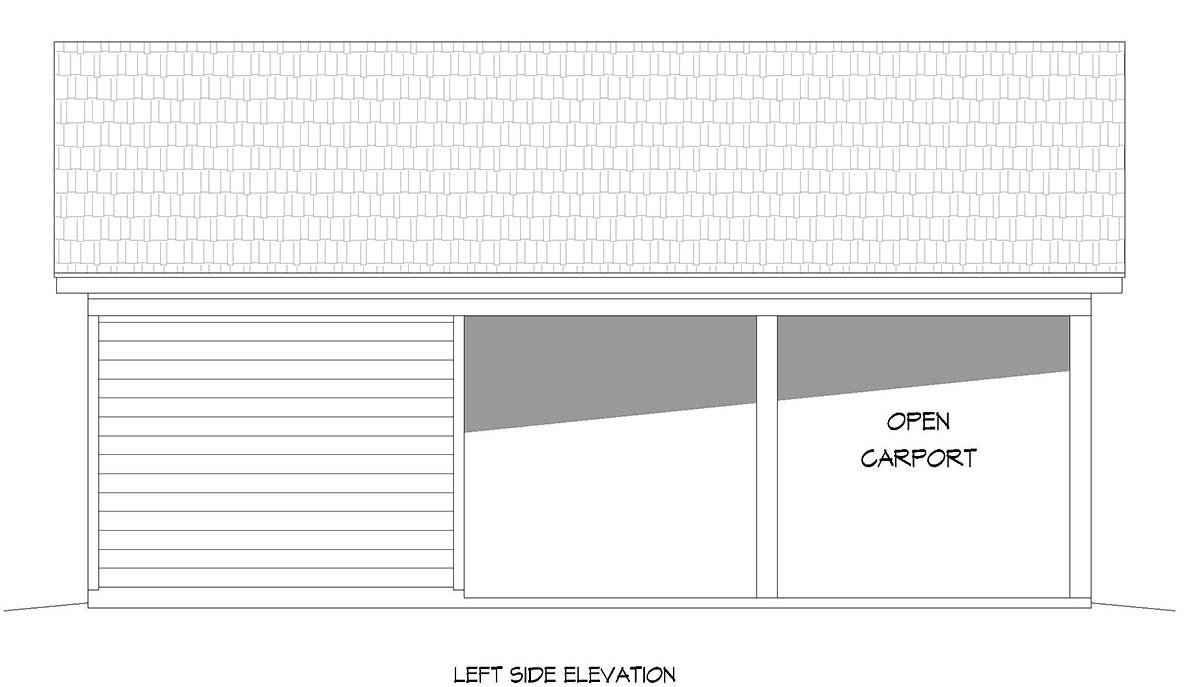 Country, Ranch, Traditional 2 Car Garage Plan 52103 Picture 2