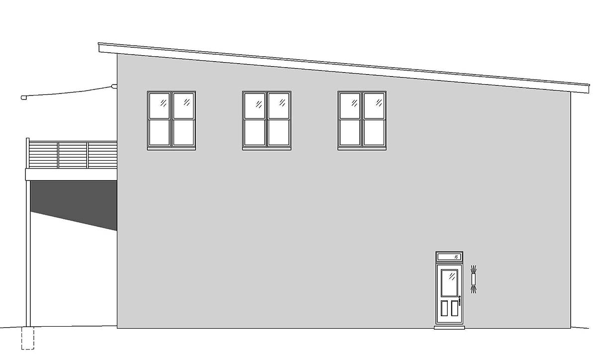 Contemporary, Modern Multi-Family Plan 52105 with 5 Beds, 4 Baths, 4 Car Garage Picture 1