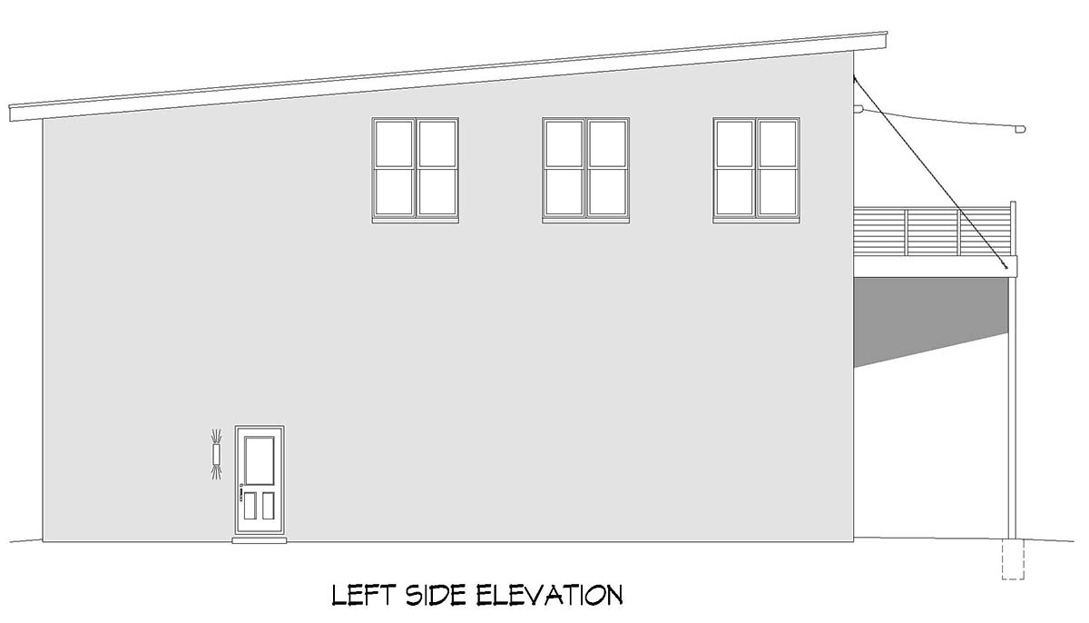 Contemporary, Modern Multi-Family Plan 52108 with 6 Beds, 4 Baths, 6 Car Garage Picture 2