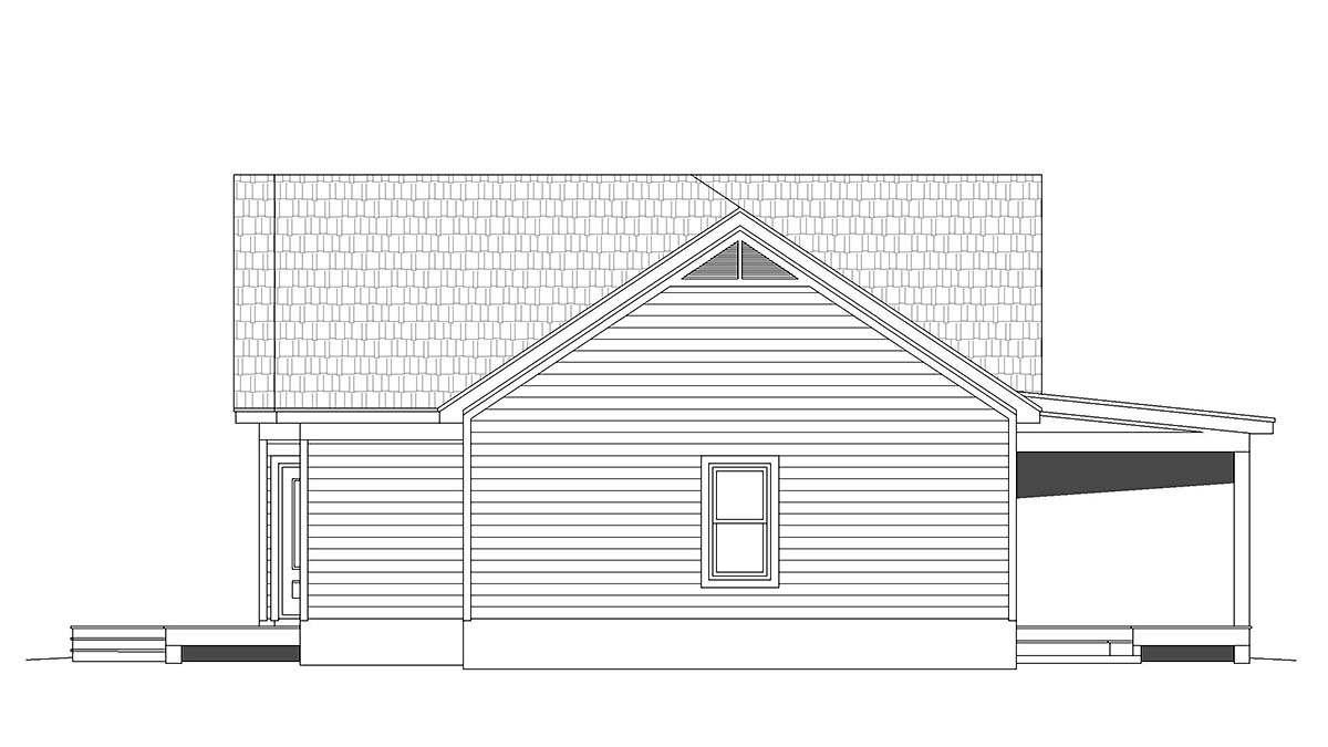 Traditional House Plan 52115 with 2 Beds, 2 Baths, 2 Car Garage Picture 1
