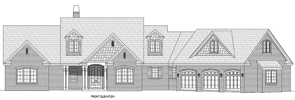 Country, Farmhouse, Traditional House Plan 52128 with 3 Beds, 3 Baths, 3 Car Garage Picture 3