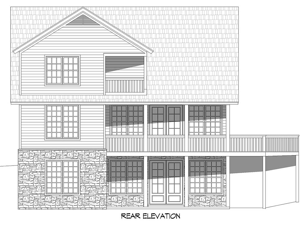 Country, Farmhouse House Plan 52131 with 3 Beds, 2 Baths Picture 4