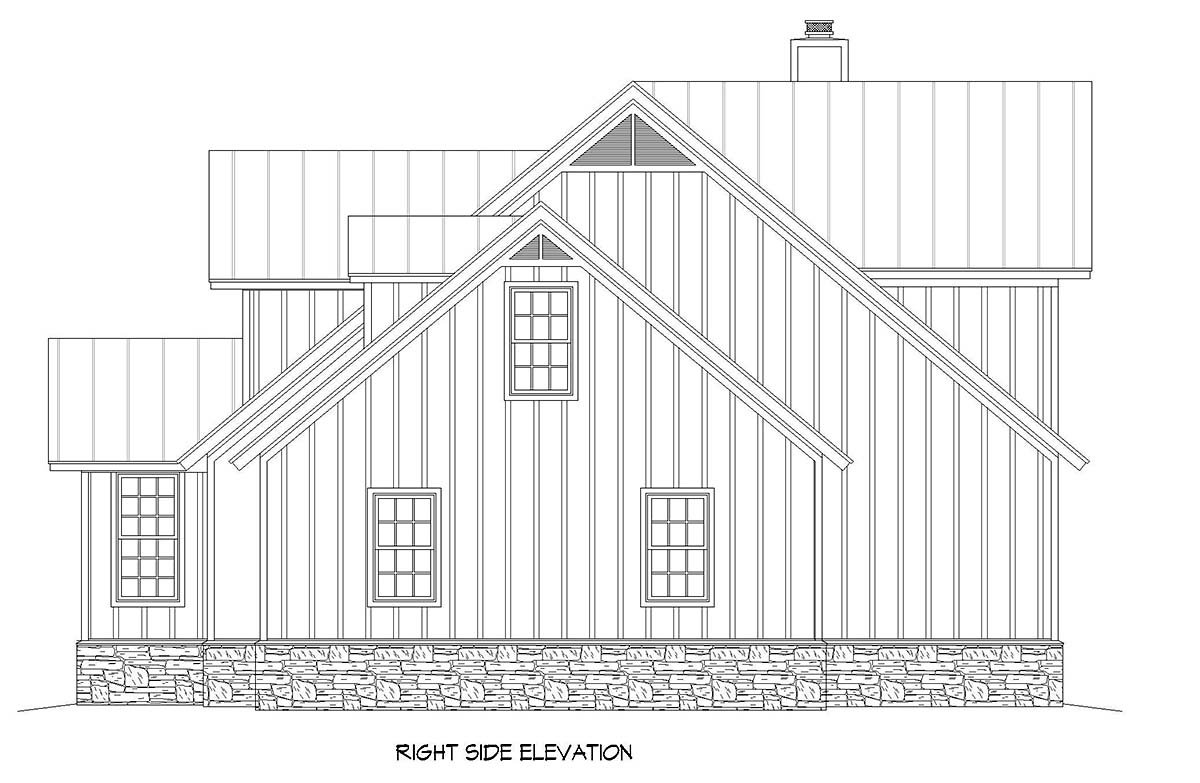 Country, Farmhouse, Traditional House Plan 52144 with 3 Beds, 3 Baths, 2 Car Garage Picture 1