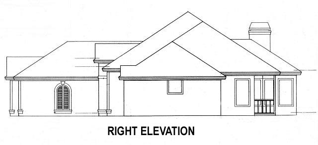 House Plan 53457 with 4 Beds, 4 Baths, 2 Car Garage Picture 2