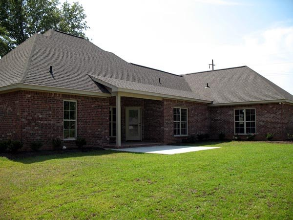 Country, Farmhouse, Southern, Traditional House Plan 55602 with 3 Beds, 2 Baths, 2 Car Garage Picture 10
