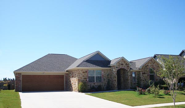 European, Traditional House Plan 56522 with 2 Beds, 3 Baths, 2 Car Garage Picture 2