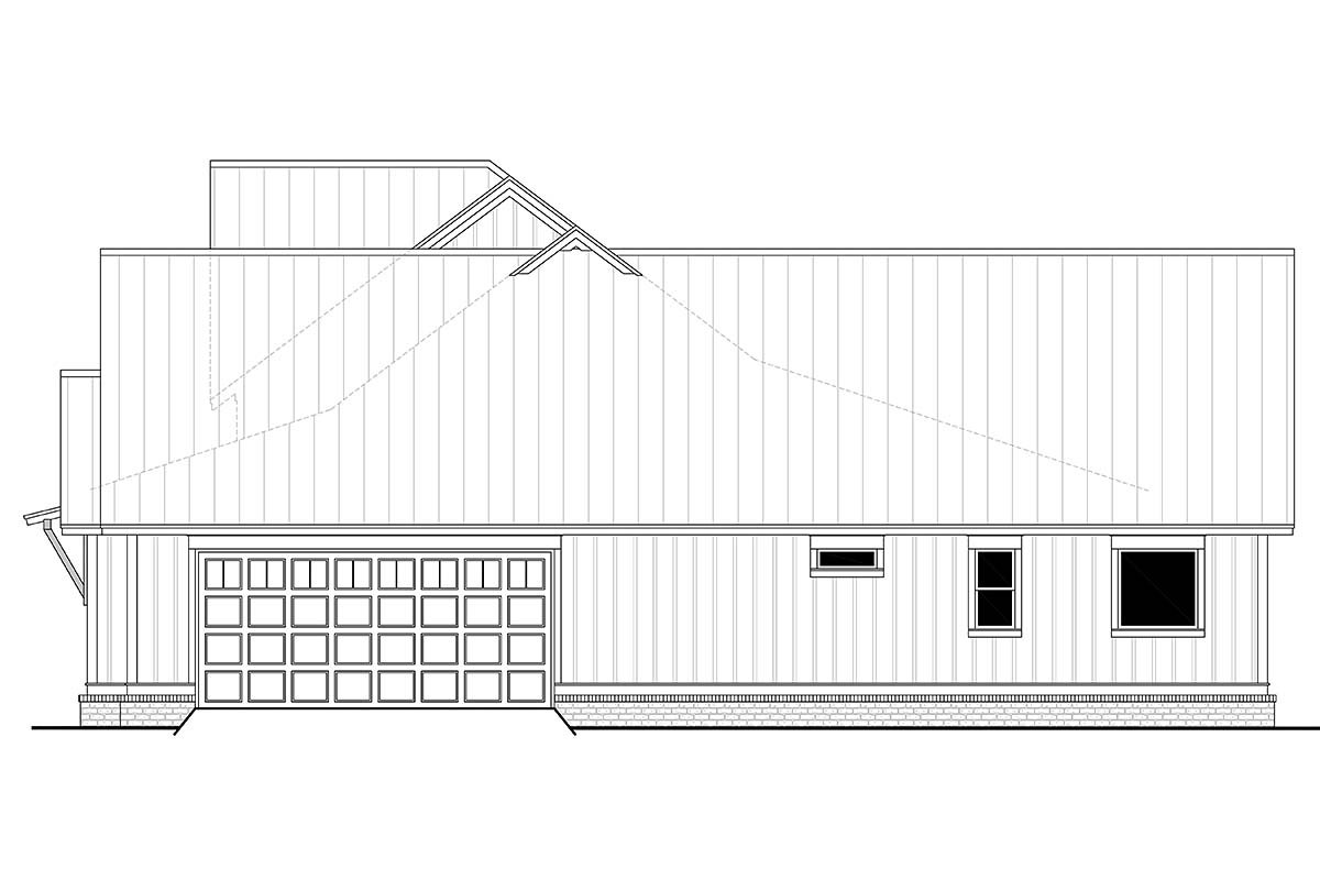 Country, Craftsman, Farmhouse House Plan 56700 with 3 Beds, 3 Baths, 2 Car Garage Picture 1
