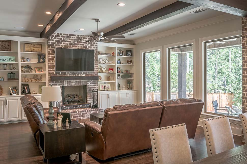 Country, Craftsman, Farmhouse House Plan 56700 with 3 Beds, 3 Baths, 2 Car Garage Picture 7