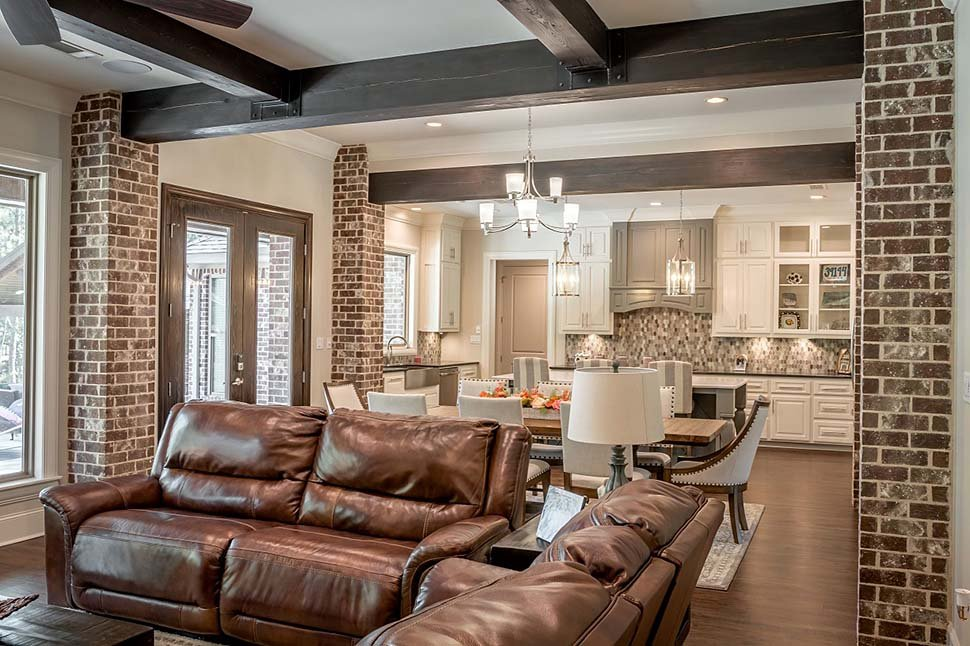 Country, Craftsman, Farmhouse House Plan 56700 with 3 Beds, 3 Baths, 2 Car Garage Picture 8