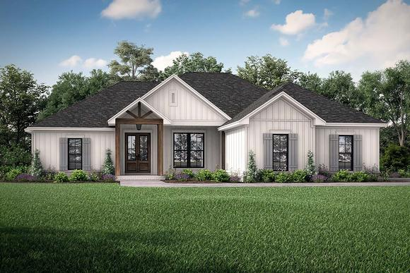 Country, Craftsman, Farmhouse House Plan 56704 with 4 Beds, 2 Baths, 2 Car Garage Elevation