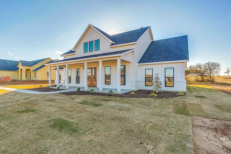 Country, Farmhouse, One-Story, Traditional House Plan 56710 with 4 Beds, 3 Baths, 2 Car Garage Picture 6