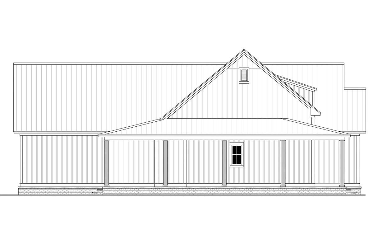 Country, Craftsman, Farmhouse House Plan 56717 with 3 Beds, 3 Baths, 2 Car Garage Picture 2