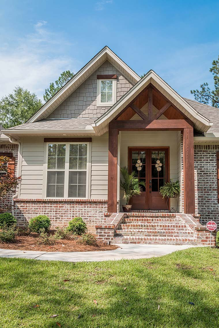 Country, Craftsman, Traditional House Plan 56903 with 3 Beds, 2 Baths, 2 Car Garage Picture 4