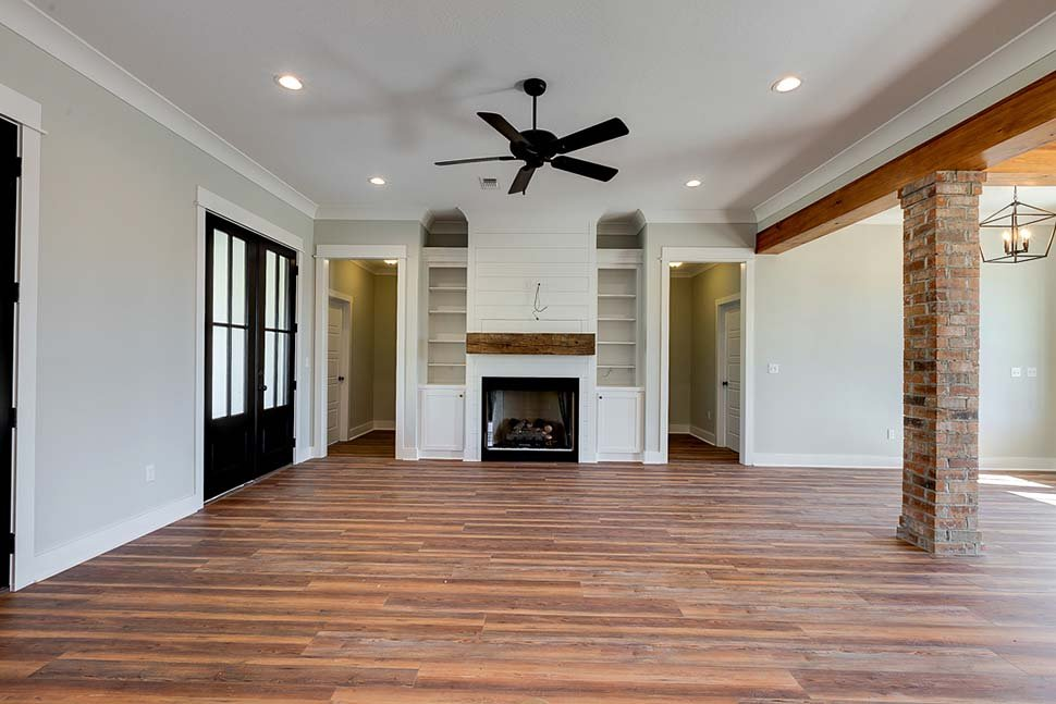 Country, Craftsman, Farmhouse House Plan 56912 with 3 Beds, 2 Baths, 2 Car Garage Picture 9