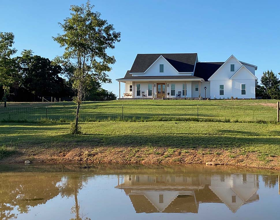 Country, Farmhouse, Southern, Traditional House Plan 56916 with 3 Beds, 3 Baths, 2 Car Garage Picture 2