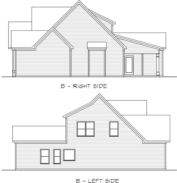 Craftsman, Traditional House Plan 58275 with 4 Beds, 3 Baths, 2 Car Garage Picture 1