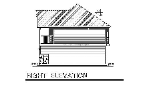European, Ranch, Traditional 3 Car Garage Apartment Plan 58569 with 2 Beds, 2 Baths Picture 2