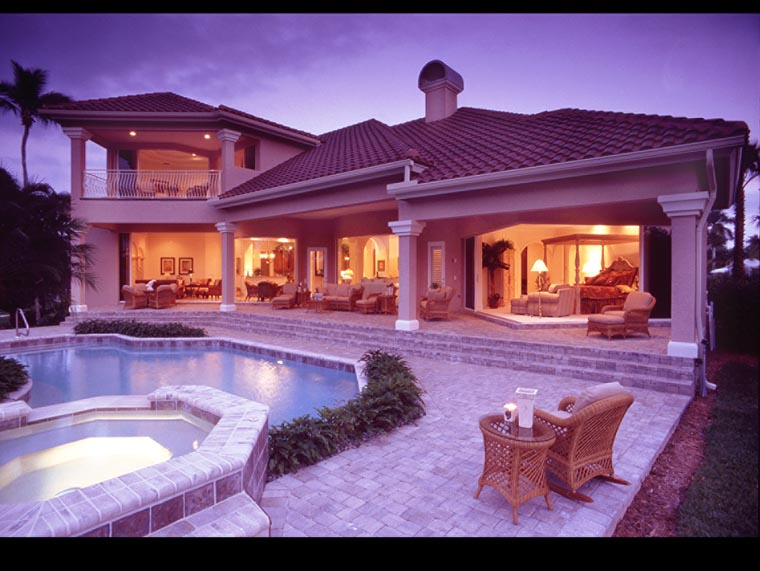 Florida House Plan 58902 with 4 Beds, 5 Baths, 3 Car Garage Picture 5