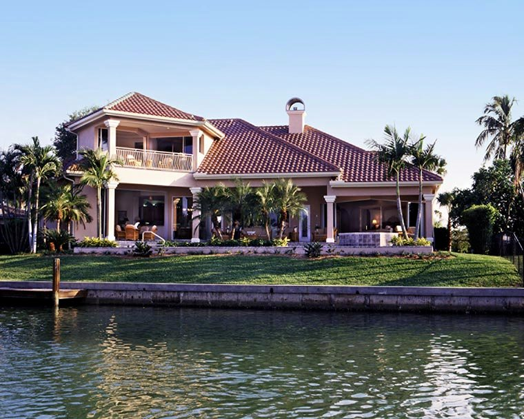 Florida House Plan 58902 with 4 Beds, 5 Baths, 3 Car Garage Picture 6