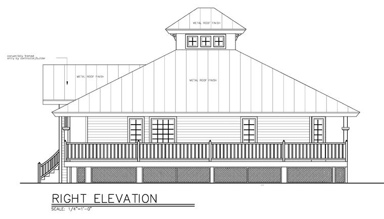Florida House Plan 58903 with 3 Beds, 2 Baths Picture 2