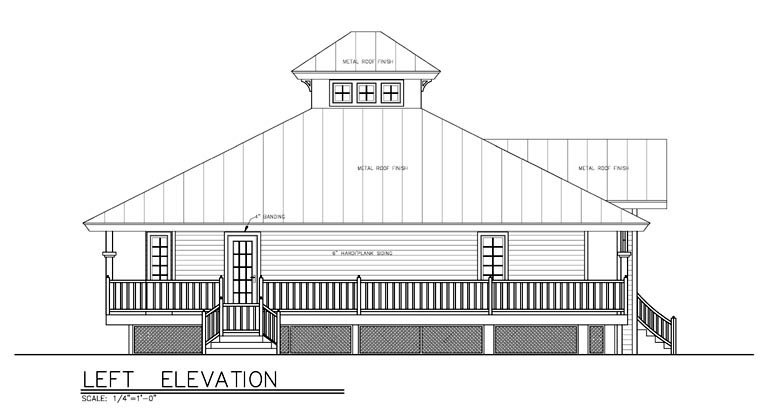 Florida House Plan 58903 with 3 Beds, 2 Baths Picture 3