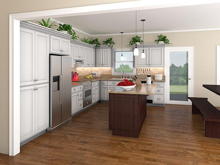 Country, Ranch, Southern, Traditional House Plan 59068 with 3 Beds, 3 Baths, 2 Car Garage Picture 1