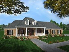 Plan Number 59075 - 2501 Square Feet