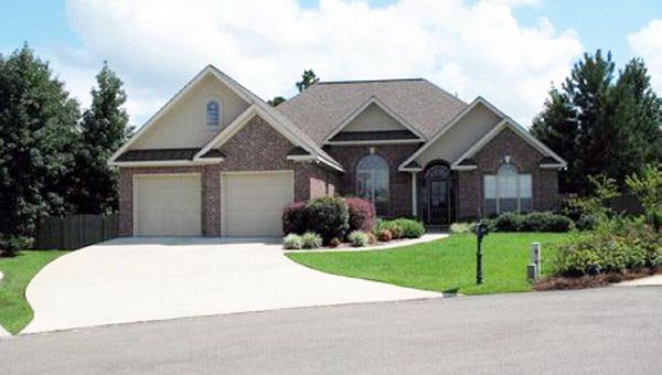 Craftsman, European, Traditional House Plan 59086 with 3 Beds, 2 Baths, 2 Car Garage Picture 1