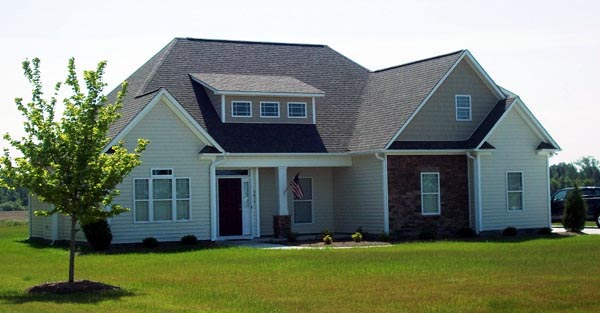 Bungalow, Craftsman, European House Plan 59101 with 3 Beds, 2 Baths, 2 Car Garage Picture 1
