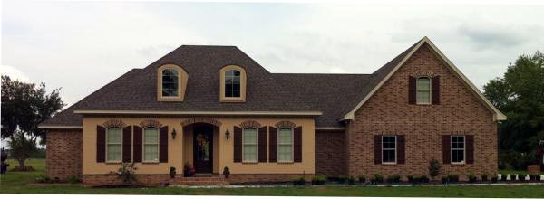 Country, European, French Country, Southern House Plan 59169 with 3 Beds, 3 Baths, 2 Car Garage Picture 1