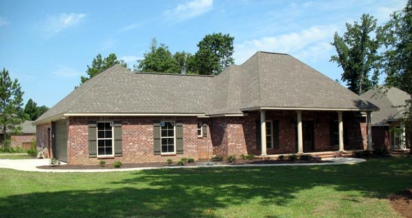 Country, European, Traditional House Plan 59179 with 3 Beds, 2 Baths, 2 Car Garage Picture 4