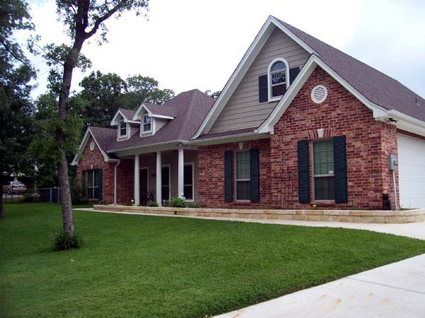 Country, European, French Country, Traditional House Plan 59181 with 3 Beds, 2 Baths, 2 Car Garage Picture 3