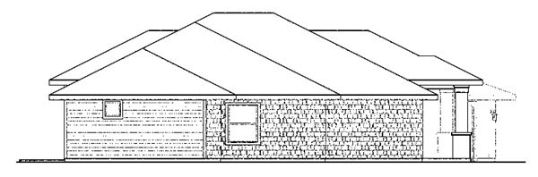 Bungalow, Florida, Ranch House Plan 59421 with 3 Beds, 3 Baths, 4 Car Garage Picture 2