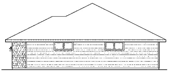 Bungalow, Florida, Ranch House Plan 59421 with 3 Beds, 3 Baths, 4 Car Garage Picture 1