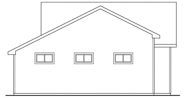 Country, Craftsman, Traditional 3 Car Garage Apartment Plan 59452, RV Storage Picture 1
