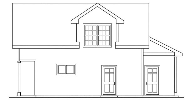 Country, Craftsman, Traditional 3 Car Garage Apartment Plan 59452, RV Storage Picture 2