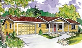 Plan Number 59706 - 2151 Square Feet