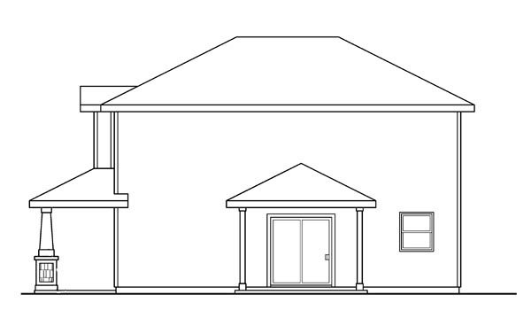 Contemporary, Cottage, Country, Craftsman House Plan 59718 with 3 Beds, 3 Baths, 2 Car Garage Picture 2
