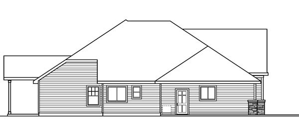Cottage, Craftsman, European, Ranch House Plan 59721 with 3 Beds, 4 Baths, 3 Car Garage Picture 1