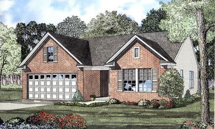 One-Story Home Plans