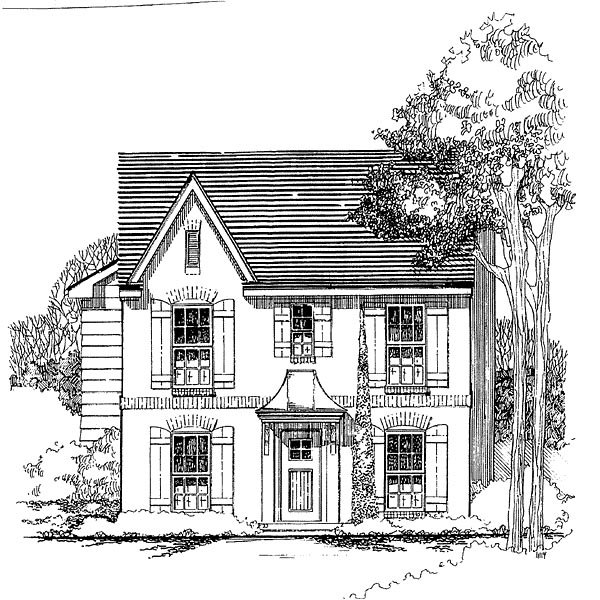 House Plan 62403 with 3 Beds, 3 Baths Elevation