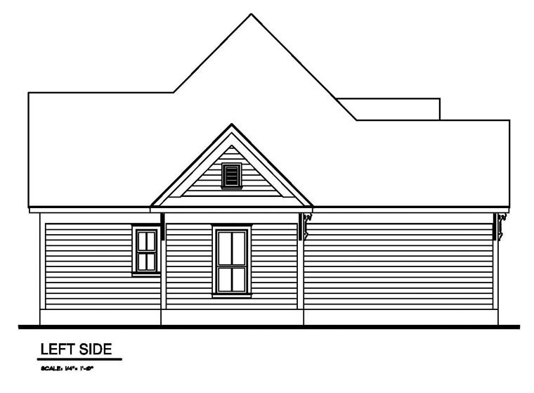 Victorian House Plan 62405 with 3 Beds, 2 Baths Picture 1