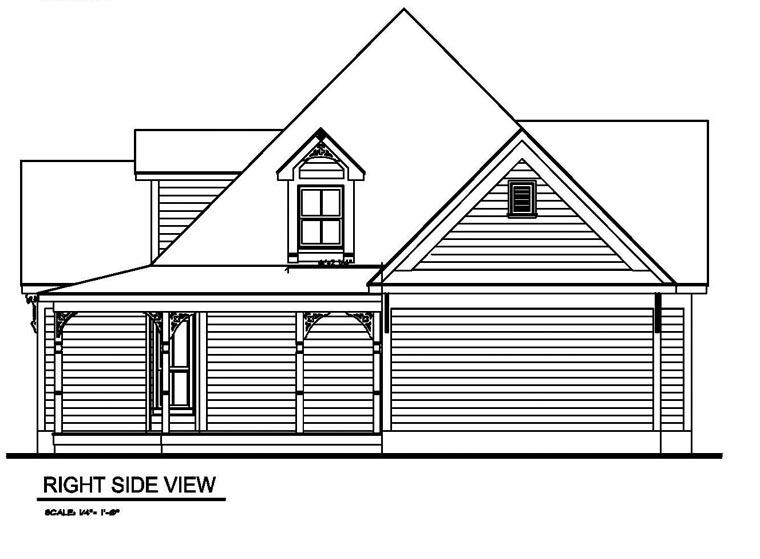 Victorian House Plan 62405 with 3 Beds, 2 Baths Picture 2