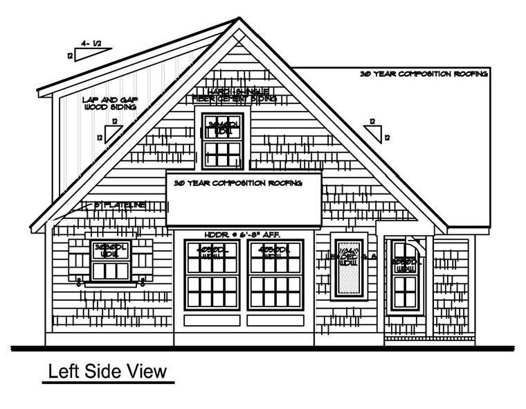 Cape Cod House Plan 62414 with 3 Beds, 1 Baths Picture 1